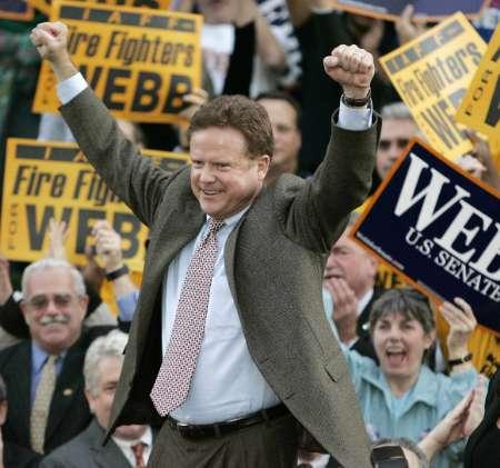 Virginia Sentor Jim Webb has sights set on prison reform (google images)